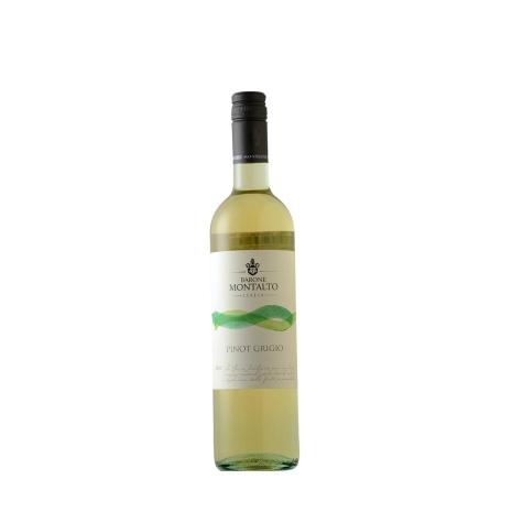 Vinho Branco Barone Montalto Acquerello Pinot Grigio 2016 750 mL