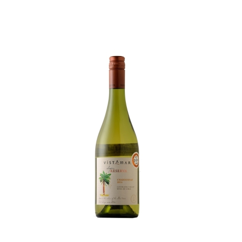 Vinho Branco Vistamar Sepia Chardonnay Reserva 2015 750 mL