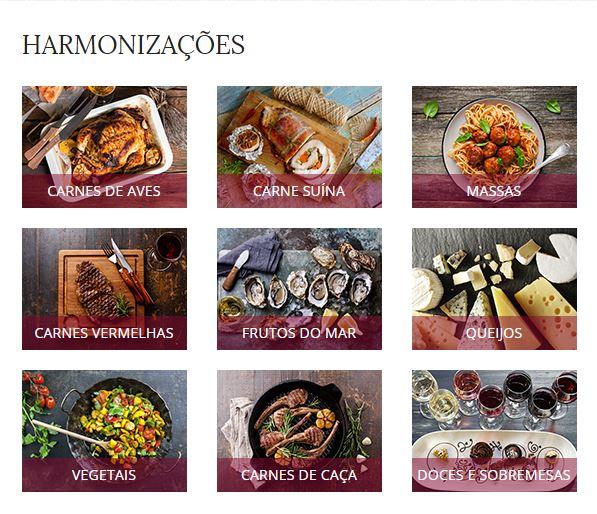 Menu com os principais tipos de pratos: você sabe que vinhos harmonizar com cada um deles?