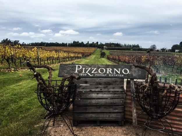 Vinícola uruguaia Pizzorno.