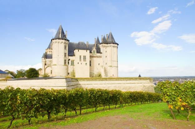 Um dos châteaus da região do Loire, na França