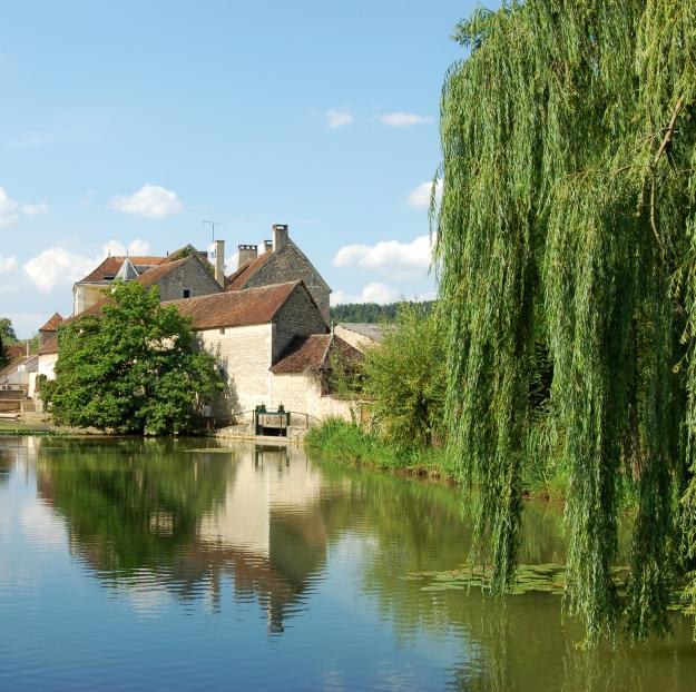 Vilarejo de Chablis, na Borgonha.