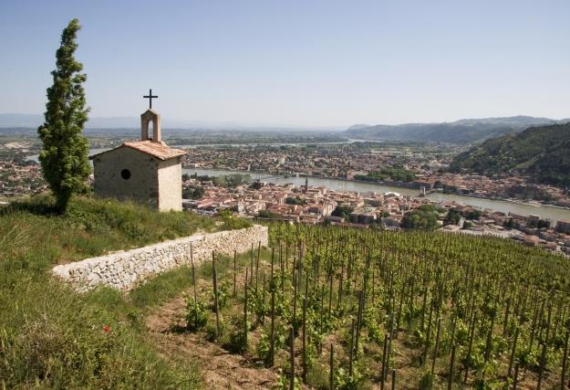 Capela no alto da colina Hermitage