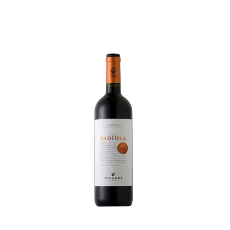 Vinho Tinto Mazzei Poggio Badiola Toscana IGT 2014 750 mL