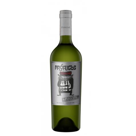 Vinho Branco Zorzal Prófugos Chardonnay 2015 750 mL