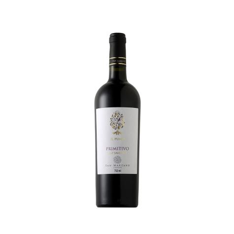 Vinho Tinto San Marzano Il Pumo Primitivo Salento IGP 2014 750 mL